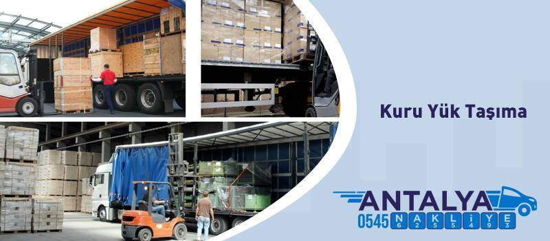 Kuru Yük Nakliyesi , Fabrika Taşımacılığı Antalya