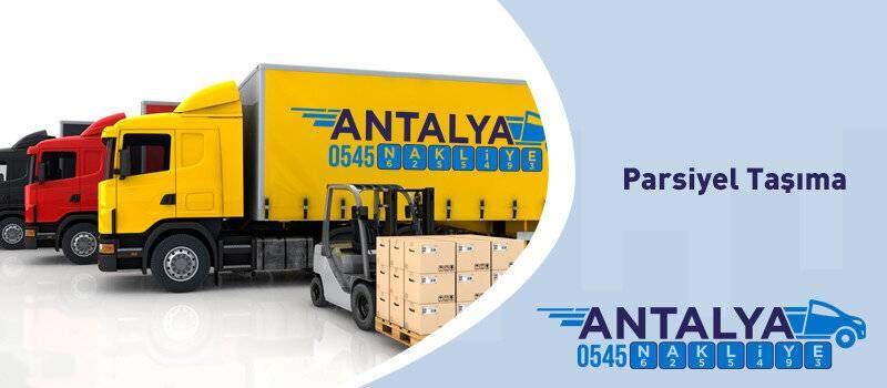Antalya Parsiyel Taşımacılık Firması (Parça Yük Taşıyan Firma )