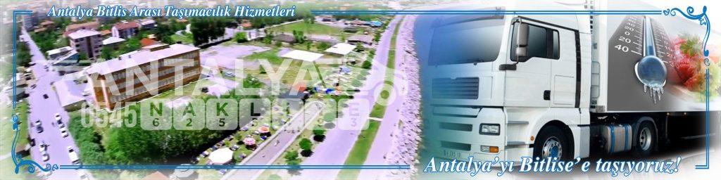 Antalya Bitlis Arası Çalışan Nakliyat Firmaları Evden Eve Taşıma