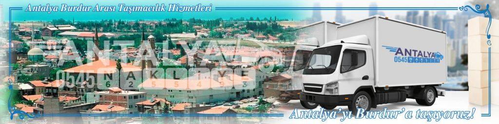 Antalya Burdur Arası Çalışan Nakliyat Firmaları Evden Eve Taşımacılık