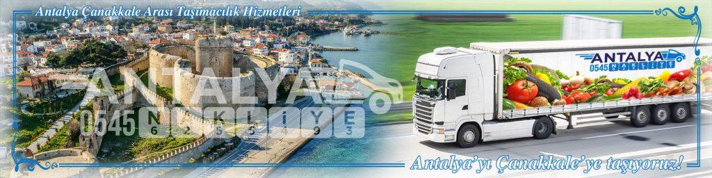 Antalya Çanakkale Arası Çalışan Nakliyat Firmaları Evden Eve Taşımacılık