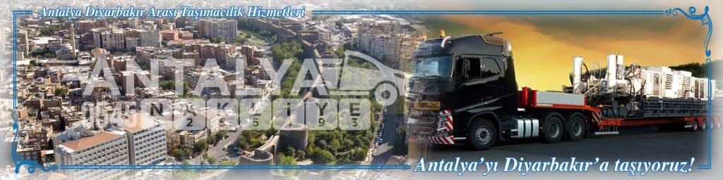 Antalya Diyarbakır Arası Çalışan Nakliyat Firmaları Evden Eve Taşımacılık