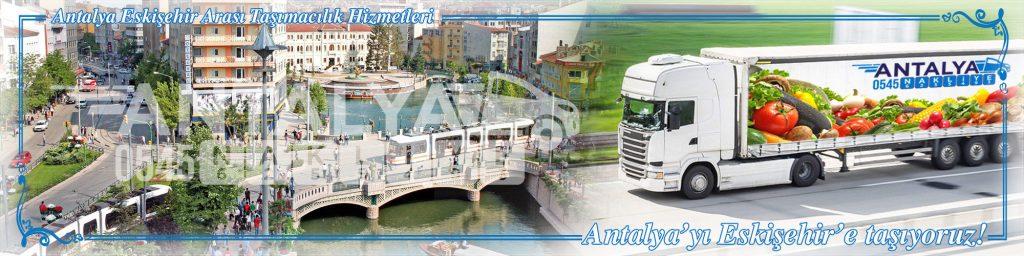 Antalya Eskişehir Arası Çalışan Nakliyat Firmaları Evden Eve Taşımacılık