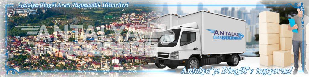 Antalya Bingöl Arası Çalışan Nakliyat Firmaları Evden Eve Taşıma