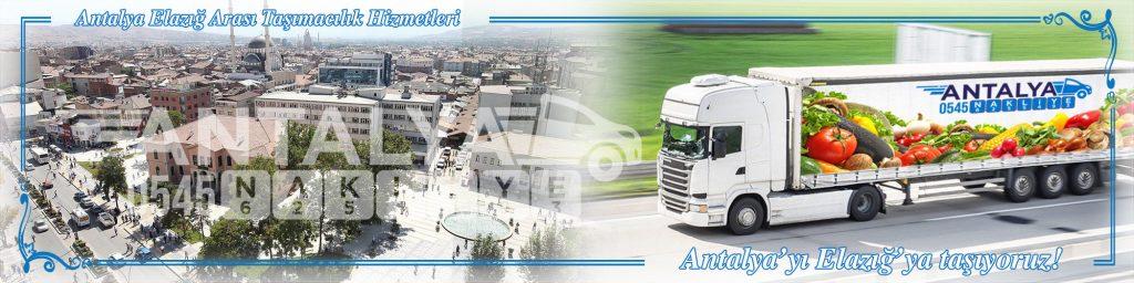 Antalya Elazığ Arası Çalışan Nakliyat Firmaları Evden Eve Taşımacılık
