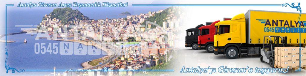 Antalya Giresun Arası Çalışan Nakliyat Firmaları Evden Eve Taşımacılık