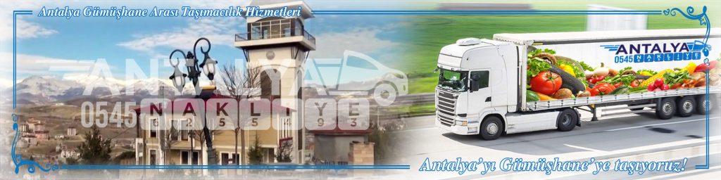 Antalya Gümüşhane Arası Çalışan Nakliyat Firmaları Evden Eve Taşımacılık
