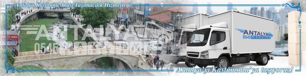 Antalya Kastamonu Arası Çalışan Nakliyat Firmaları Evden Eve Taşımacılık
