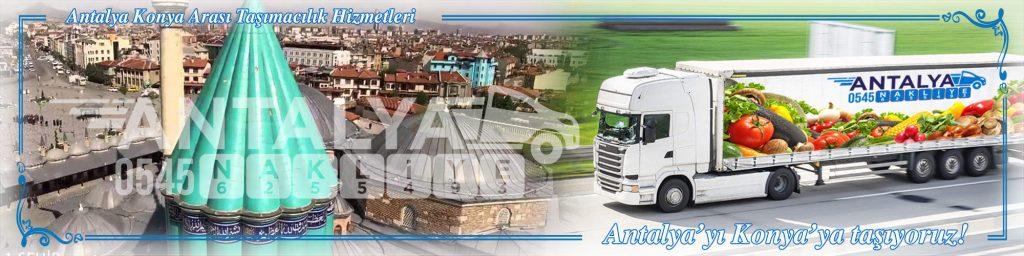 Antalya Konya Arası Çalışan Nakliyat Firmaları Evden Eve Taşımacılık