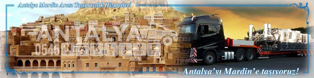 Antalya Mardin Arası Çalışan Nakliyat Firmaları Evden Eve Taşımacılık