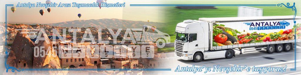 Antalya Nevşehir Arası Çalışan Nakliyat Firmaları Evden Eve Taşımacılık