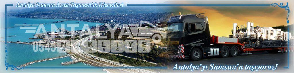 Antalya Samsun Arası Çalışan Nakliyat Firmaları Evden Eve Taşımacılık