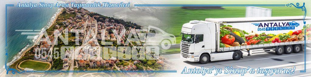 Antalya Sinop Arası Çalışan Nakliyat Firmaları Evden Eve Taşımacılık